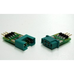 MPX connector set met pin strip
